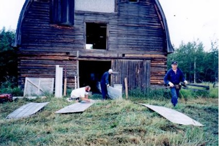 Restoration Projects at the McNaught Homestead