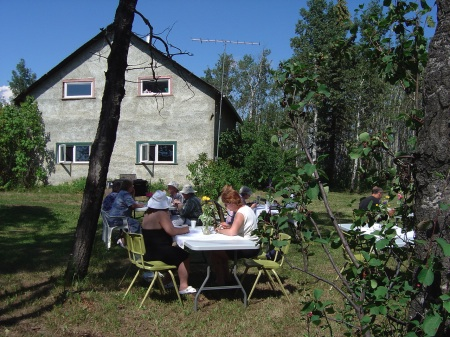 Fundraising event at McNaught Homestead